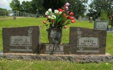 COX, DEWEY - Boone County, Arkansas   DEWEY COX - Arkansas Gravestone Photos