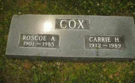 COX, ROSCOE A. - Boone County, Arkansas | ROSCOE A. COX - Arkansas Gravestone Photos