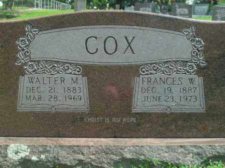 COX, WALTER MANUEL - Boone County, Arkansas | WALTER MANUEL COX - Arkansas Gravestone Photos
