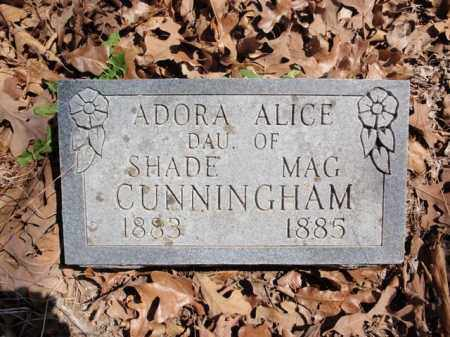 CUNNINGHAM, ADORA ALICE - Boone County, Arkansas | ADORA ALICE CUNNINGHAM - Arkansas Gravestone Photos