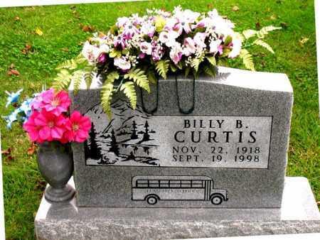 CURTIS, BILLY B. - Boone County, Arkansas | BILLY B. CURTIS - Arkansas Gravestone Photos