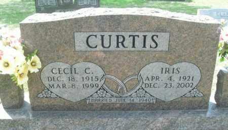 CURTIS, IRIS - Boone County, Arkansas | IRIS CURTIS - Arkansas Gravestone Photos