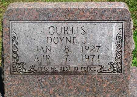 CURTIS, DOYNE J - Boone County, Arkansas   DOYNE J CURTIS - Arkansas Gravestone Photos