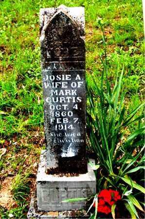 CURTIS, JOSIE A. - Boone County, Arkansas | JOSIE A. CURTIS - Arkansas Gravestone Photos