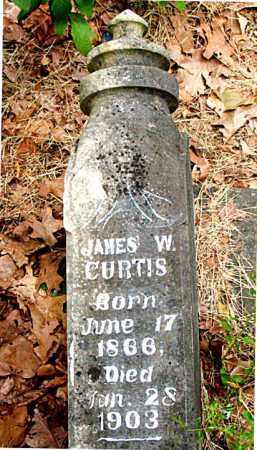 CURTIS, JAMES W. - Boone County, Arkansas | JAMES W. CURTIS - Arkansas Gravestone Photos