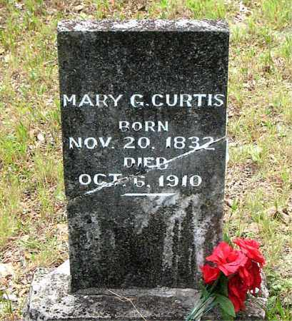 CURTIS, MARY G. - Boone County, Arkansas | MARY G. CURTIS - Arkansas Gravestone Photos