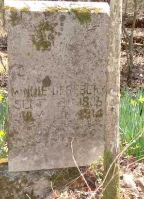 DEREBERY, MINNIE - Boone County, Arkansas | MINNIE DEREBERY - Arkansas Gravestone Photos