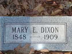 DIXON, MARY E - Boone County, Arkansas | MARY E DIXON - Arkansas Gravestone Photos