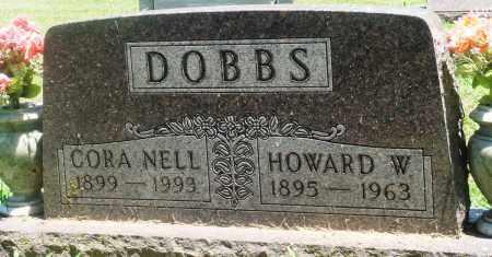 DOBBS, HOWARD W - Boone County, Arkansas | HOWARD W DOBBS - Arkansas Gravestone Photos