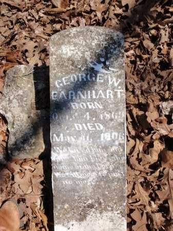 EARNHART, GEORGE W. - Boone County, Arkansas   GEORGE W. EARNHART - Arkansas Gravestone Photos