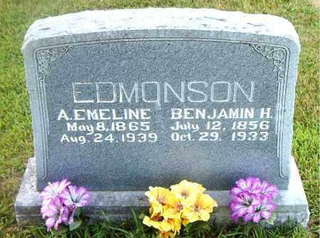 EDMONSON, BENJAMIN HARVEY - Boone County, Arkansas   BENJAMIN HARVEY EDMONSON - Arkansas Gravestone Photos
