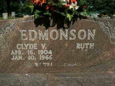 EDMONSON, CLYDE V. - Boone County, Arkansas | CLYDE V. EDMONSON - Arkansas Gravestone Photos