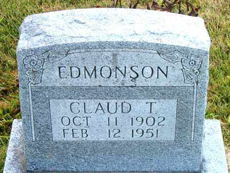 EDMONSON, CLAUD  T. - Boone County, Arkansas | CLAUD  T. EDMONSON - Arkansas Gravestone Photos