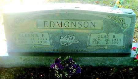 EDMONSON, CLAY  BENJIMAN - Boone County, Arkansas | CLAY  BENJIMAN EDMONSON - Arkansas Gravestone Photos