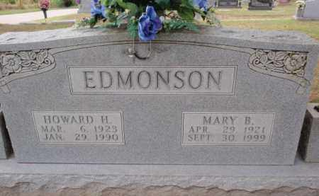 EDMONSON, MARY B - Boone County, Arkansas | MARY B EDMONSON - Arkansas Gravestone Photos