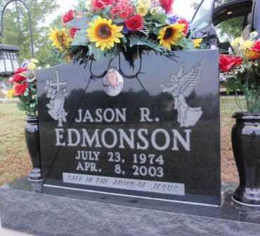 EDMONSON, JASON R - Boone County, Arkansas | JASON R EDMONSON - Arkansas Gravestone Photos