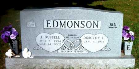 EDMONSON, J.  RUSSELL - Boone County, Arkansas | J.  RUSSELL EDMONSON - Arkansas Gravestone Photos