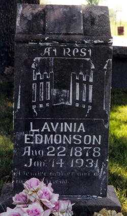 EDMONSON, LAVINIA - Boone County, Arkansas | LAVINIA EDMONSON - Arkansas Gravestone Photos
