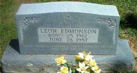 EDMONSON, LEON - Boone County, Arkansas   LEON EDMONSON - Arkansas Gravestone Photos