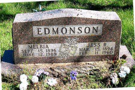 EDMONSON, JESS R. - Boone County, Arkansas | JESS R. EDMONSON - Arkansas Gravestone Photos