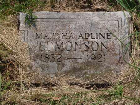 EDMONSON, MARTHA ADLINE - Boone County, Arkansas | MARTHA ADLINE EDMONSON - Arkansas Gravestone Photos