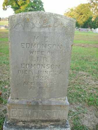 EDMONSON, M.E. - Boone County, Arkansas | M.E. EDMONSON - Arkansas Gravestone Photos