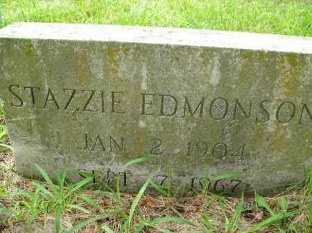 EDMONSON, STAZZIE - Boone County, Arkansas | STAZZIE EDMONSON - Arkansas Gravestone Photos