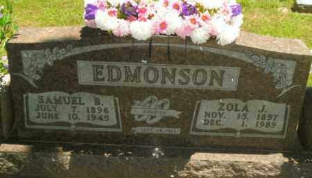 EDMONSON, ZOLA JANE - Boone County, Arkansas | ZOLA JANE EDMONSON - Arkansas Gravestone Photos