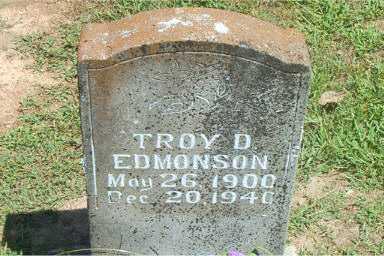 EDMONSON, TROY D. - Boone County, Arkansas | TROY D. EDMONSON - Arkansas Gravestone Photos