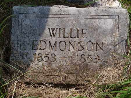 EDMONSON, WILLIE - Boone County, Arkansas | WILLIE EDMONSON - Arkansas Gravestone Photos