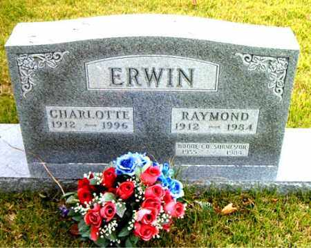 ERWIN, CHARLOTTE - Boone County, Arkansas | CHARLOTTE ERWIN - Arkansas Gravestone Photos