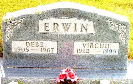 ERWIN, VIRCHIE - Boone County, Arkansas | VIRCHIE ERWIN - Arkansas Gravestone Photos