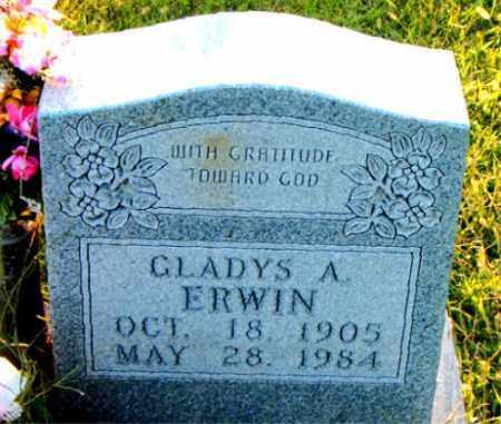 ERWIN, GLADYS  A. - Boone County, Arkansas | GLADYS  A. ERWIN - Arkansas Gravestone Photos
