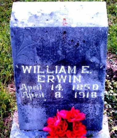 ERWIN, WILLIAM  E. - Boone County, Arkansas | WILLIAM  E. ERWIN - Arkansas Gravestone Photos
