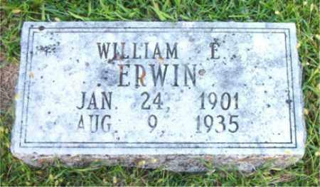 ERWIN, WILLIAM    E. - Boone County, Arkansas   WILLIAM    E. ERWIN - Arkansas Gravestone Photos
