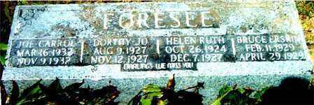 FORESEE, DORTHY JO - Boone County, Arkansas | DORTHY JO FORESEE - Arkansas Gravestone Photos
