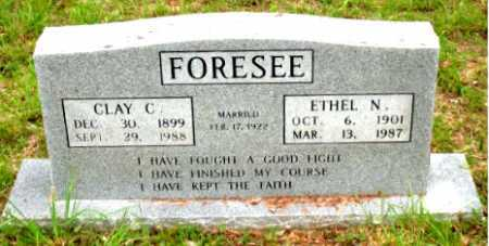 FORESEE, CLAY C. - Boone County, Arkansas   CLAY C. FORESEE - Arkansas Gravestone Photos