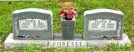 FORESEE, NORA A. - Boone County, Arkansas   NORA A. FORESEE - Arkansas Gravestone Photos