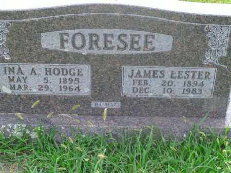 FORESEE, JAMES LESTER - Boone County, Arkansas | JAMES LESTER FORESEE - Arkansas Gravestone Photos