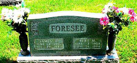 FORESEE, JAMES ADAM - Boone County, Arkansas | JAMES ADAM FORESEE - Arkansas Gravestone Photos