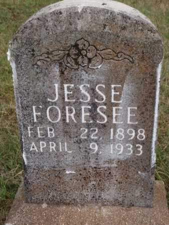 FORESEE, JESSE - Boone County, Arkansas | JESSE FORESEE - Arkansas Gravestone Photos