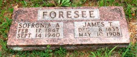 FORESEE, JAMES T. - Boone County, Arkansas   JAMES T. FORESEE - Arkansas Gravestone Photos