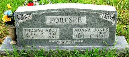 FORESEE, MONNA - Boone County, Arkansas | MONNA FORESEE - Arkansas Gravestone Photos