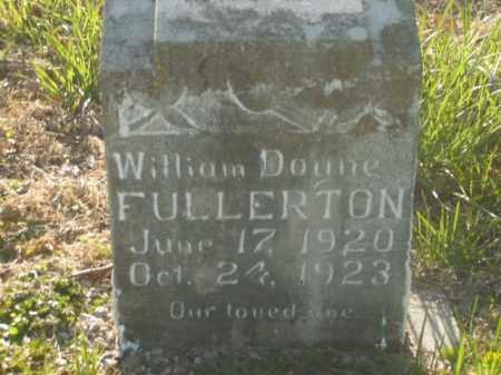 FULLERTON, WILLIAM DOYNE - Boone County, Arkansas   WILLIAM DOYNE FULLERTON - Arkansas Gravestone Photos