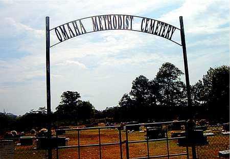 *OMAHA METHODIST CEMETERY GATE,  - Boone County, Arkansas    *OMAHA METHODIST CEMETERY GATE - Arkansas Gravestone Photos