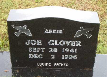 GLOVER, JOE (ARKIE) - Boone County, Arkansas | JOE (ARKIE) GLOVER - Arkansas Gravestone Photos