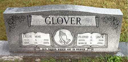 GLOVER, FLOYD  L (JACK) - Boone County, Arkansas   FLOYD  L (JACK) GLOVER - Arkansas Gravestone Photos