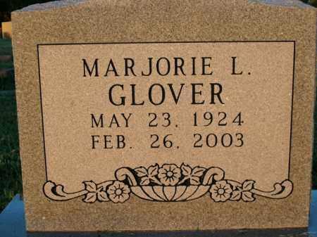 GLOVER, MARJORIE L. - Boone County, Arkansas   MARJORIE L. GLOVER - Arkansas Gravestone Photos