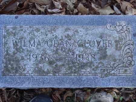 GLOVER, WILMA GEAN - Boone County, Arkansas | WILMA GEAN GLOVER - Arkansas Gravestone Photos