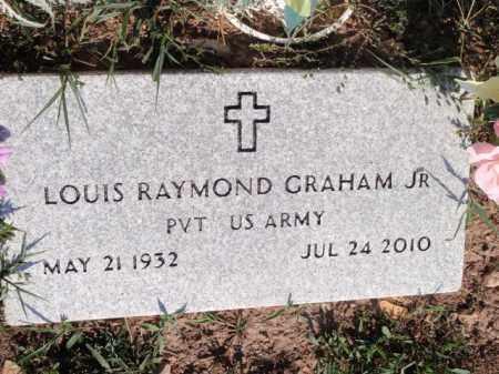 GRAHAM, JR  (VETERAN), LOUIS RAYMOND - Boone County, Arkansas | LOUIS RAYMOND GRAHAM, JR  (VETERAN) - Arkansas Gravestone Photos